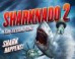 'sharknado 2' producers resort to crowdfunding, need you to pay for all those sharks and chainsaws